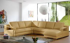 beige leather sectional sofa beige leather modern sectional sofa w metal legs