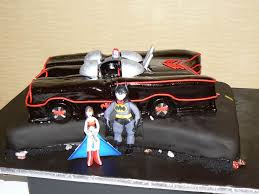 batmobile cakes between the pages