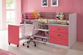 bureau pour lit mezzanine lit avec bureau pour fille collection et cuisine lits mezzanines lit