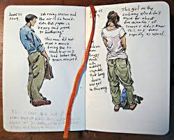 sketching with a moleskine