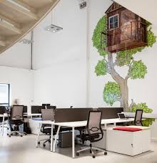 Office Space Designer Employing Striking Details To Shape A Creative Office Space Design