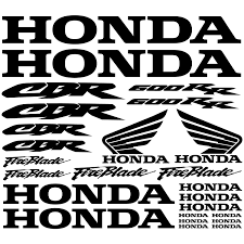 cbr fireblade 600 wallstickers folies honda cbr 600rr decal stickers kit