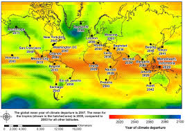 World Climate Map by World Map Continents
