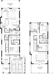 Two Storey Floor Plan The Stoneham Four Bed Two Storey Home Design Plunkett Homes