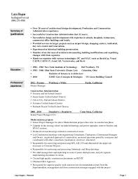 sample cover letter project manager professional resumes example