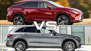 lexus es 250 vs mercedes e class 2016 lexus rx 350 vs 2016 mercedes benz glc youtube