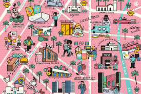 Los Angeles Downtown Map by What To Do See And Eat In Downtown L A From The Broad To