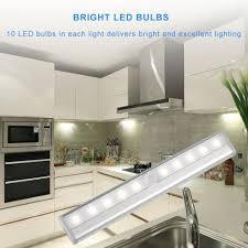 brightest led strip light 10 led motion sensing closet lights magicbuds super bright stick