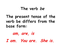past present and future verb tense