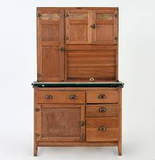 oak hoosier cabinet by wilson kitchen cabinets ebth