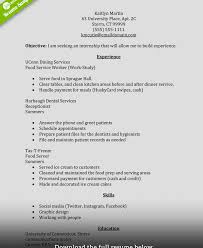 exles of resumes for internships magnificent executive summary resume internship ideas entry