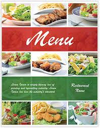 many dishes menu template u0026 design id 0000002036 smiletemplates com