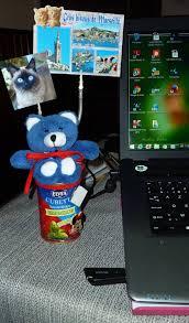 bureau bisous adorable efficace sur votre bureau