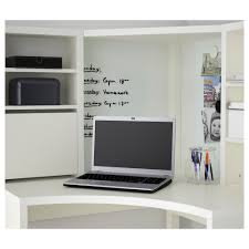 Corner Desk With Shelves by Micke Corner Workstation White 100x142 Cm Ikea