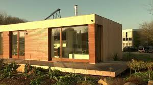 natural minimalist exterior design with small kit homes that seems