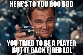 Do You Boo Boo Meme - leonardo dicaprio cheers memes imgflip