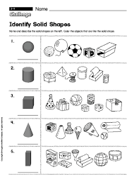 worksheets solid shapes worksheet opossumsoft worksheets and
