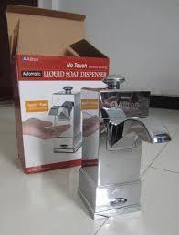 bathroom accessories chrome automatic soap dispensers luxury