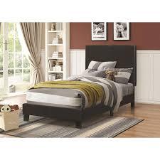 Bedroom Furniture Dfw 300558 Black Platform Bed Free Dfw Delivery Coas 300558 Black