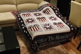 heavy 100 cotton jacquard woven sofa throws blanket with custom