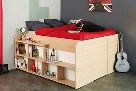 Raised Bed Frame Clever Bed Designs With Integrated Storage For Max Efficiency