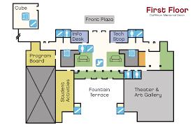 administration office floor plan best coffman memorial union