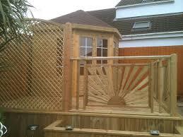 Diamond Trellis Panels Corner Summerhouse Pressure Treated With Shingles On Roof Diamond