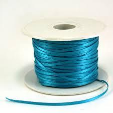 teal ribbons maple craft satin ribbons 1 16 spool of 100 yards satin