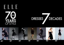 what is in style for a 70 year old woman elle celebrates 70 years of style with 7 iconic chic dresses per my