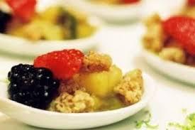 cuisine d automne recette de crumble de fruits d automne au sirop d érable facile et