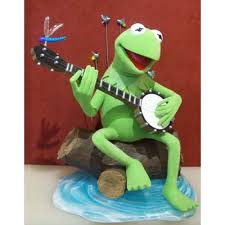 your wdw store disney big figure statue kermit the frog