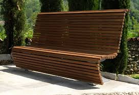 panchine legno panchine arredo urbano legno oc srl