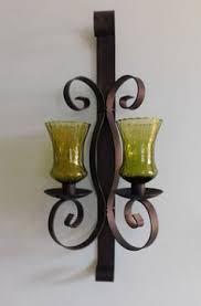 home interiors sconces vintage home interiors gold oval mirrored wall candle sconce