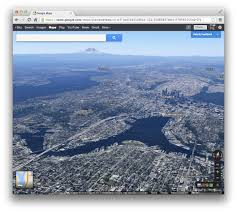 Maps Google Com Seattle by Seattle U0026 Rainier From The New Google Maps Preview Seattle