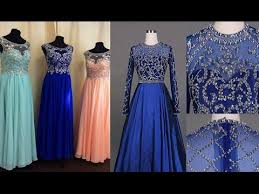 indian long prom party gown dress youtube