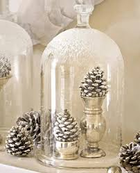 Ideas For Christmas Centerpieces - white silver christmas centerpiece ideas natural decorations with