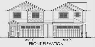 Floor Plans For Duplex Houses Corner Lot Duplex House Plans Corner Lot House Plans D 558 A