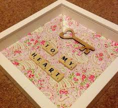key to my heart gifts key to my heart valentines day gift scrabble frame range of