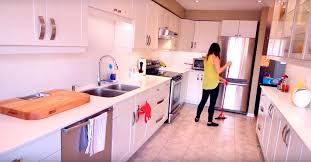 How To Clean Kitchen Floors - how i clean my kitchen clean my space