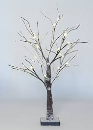 twig tree with lights amazon com dobar 24 tabletop twig tree with led lights battery