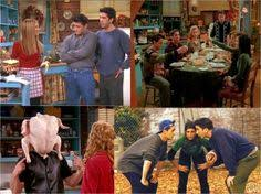 how to handle thanksgiving according to friends thanksgiving