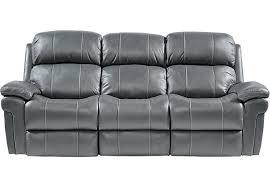 Flexsteel Reclining Leather Sofa Power Leather Sofa S Flexsteel Contemporary Brown Leather Power