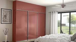 Sliding Door Bedroom Wardrobe Designs Bedroom Furniture Wooden Laminated Wardrobe Cabinet With Mirror