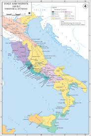Map Of Bc Map Of Italy 326 Bc