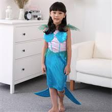 Mermaid Halloween Costumes Kids Popular Mermaid Halloween Costumes Buy Cheap Mermaid Halloween