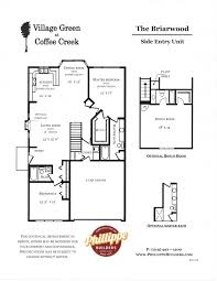 Briarwood Homes Floor Plans The Briarwood Chesterton In