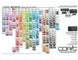 hand painted color chart 358 color