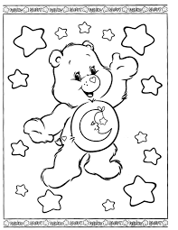 care bear coloring pages 2782 kids tocoloring crafty