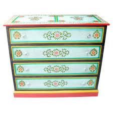 vase design painted chest of drawers iris furnishing