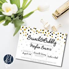 bridal brunch invitation bridal shower brunch and bubbly invitation brunch invitation